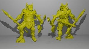 Leviathan Armor 3D