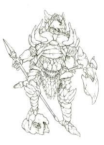Leviathan Armor concept